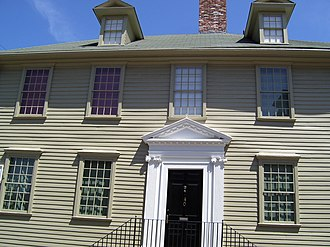 Augustus Johnston - The Lucas-Johnston House in Newport was built by Johnston's grandfather in 1712