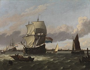 The Harbour of Amsterdam