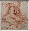 Ludovico carracci, arpia seduta, 1588 ca.jpg
