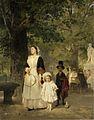 Ludwig Knaus - Promenade in den Tuilerien-Gärten (1855).jpg