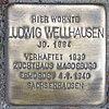 Stolperstein für Ludwig Wellhausen