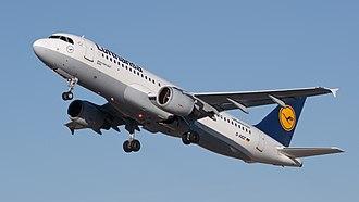 Airbus A320 family - Image: Lufthansa Airbus A320 211 D AIQT 01