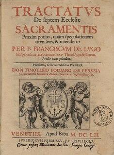 Francisco de Lugo Spanish theologian