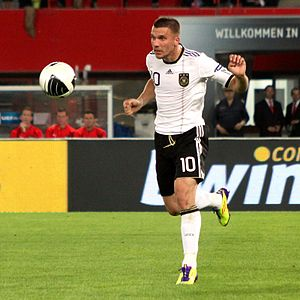 Lukas Podolski (1. FC Köln), german national f...