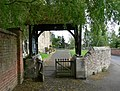 Lych gate of All Saints Church, Cadeby - geograph.org.uk - 1320109.jpg