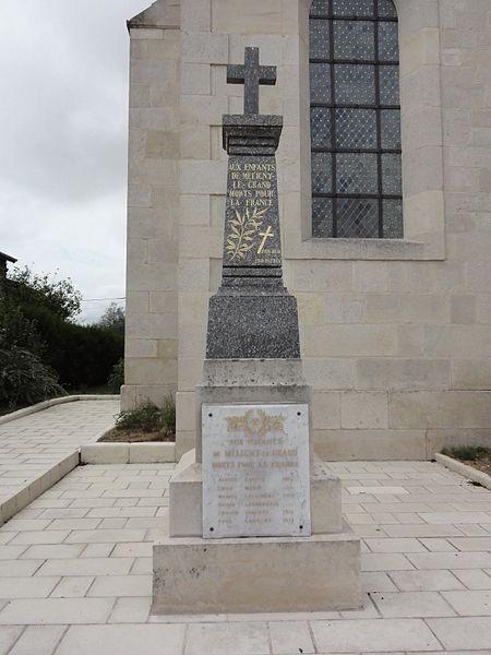Méligny-le-Grand (Meuse) monument aux morts