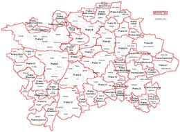 Praga – Mappa
