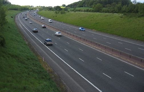 M40 in Warwickshire Crop
