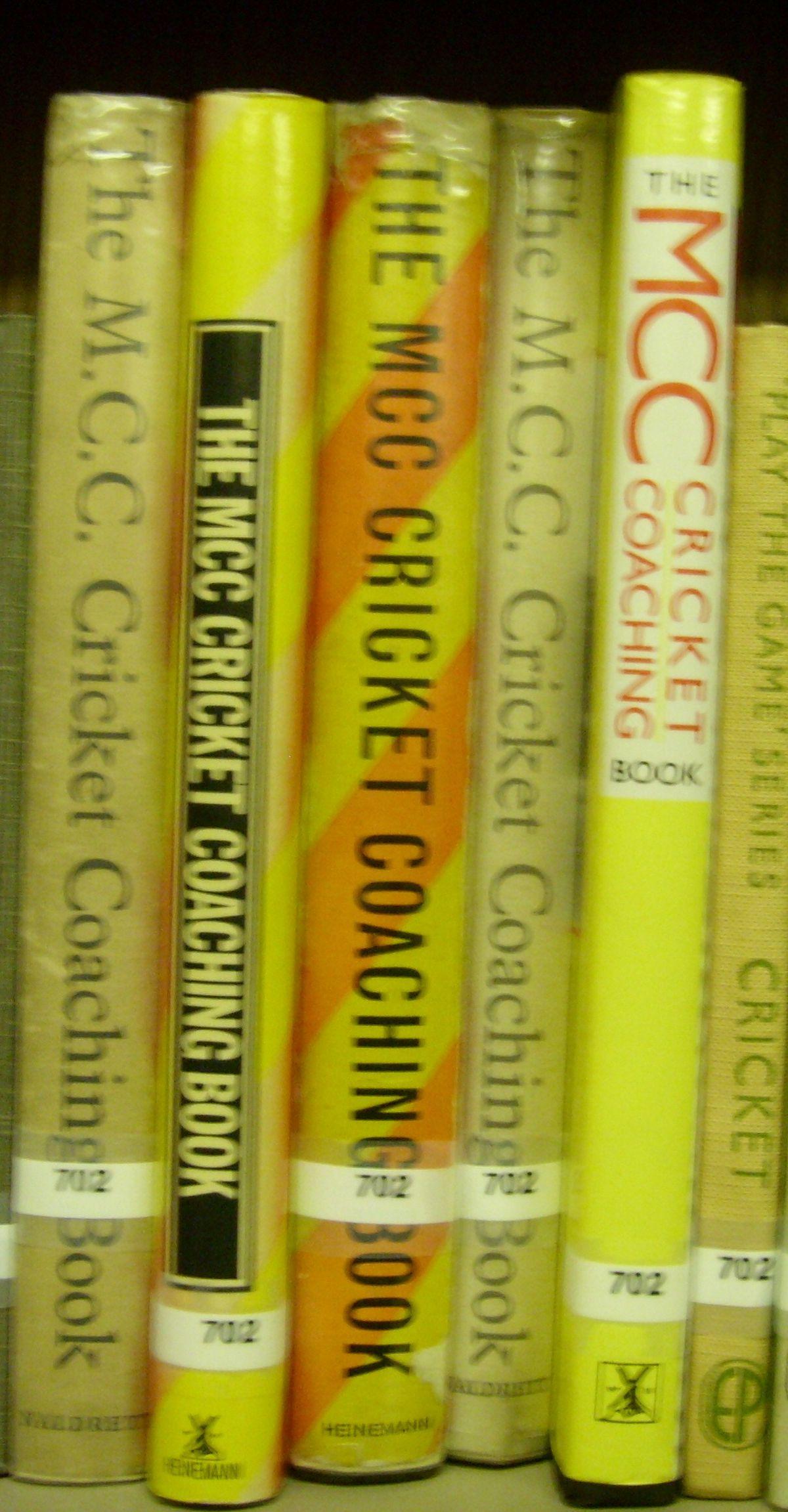 MCC Coaching manual - Wikipedia