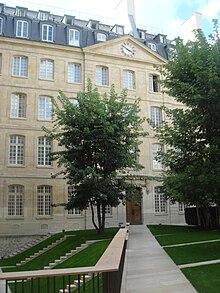 La sede del seminario delle Missioni estere di Parigi