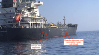 June 2019 Gulf of Oman incident Attack on two oil tankers in the Gulf of Oman