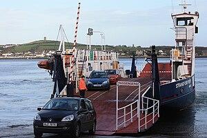 Portaferry–Strangford ferry - Image: MV Strangford Ferry (02), October 2009