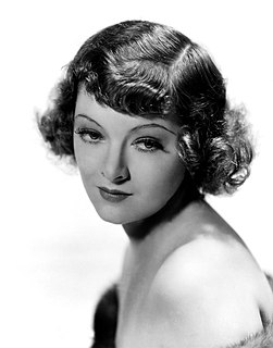 Myrna Loy American film, television and stage actress