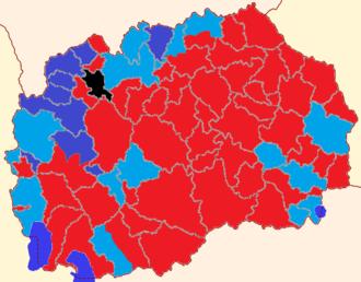 Macedonian parliamentary election, 2016 - Image: Macedonia election results 2016