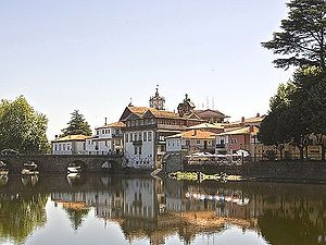 Tâmega (river) - The Tâmega in Chaves