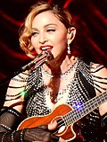 Madonna (born August 16, 1958) portrayed Eva Perón