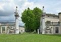 Madonna di Rezzato gate to the chapel.JPG