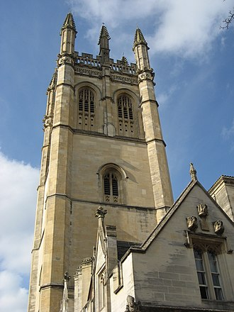 William Orchard (architect) - Image: Magdalen College Tower