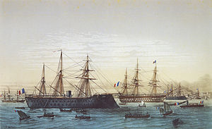 Magenta and Napoléon III in Brest.jpg