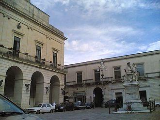 Maglie - Image: Maglie piazza Aldo Moro