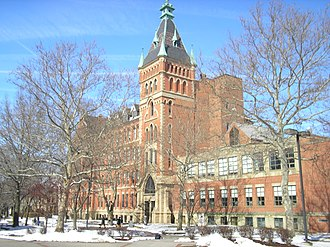 Saint Ignatius High School (Cleveland) - The Main Building completed in 1891