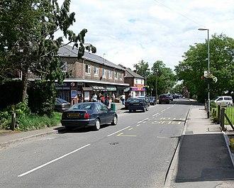 Kirby Muxloe - Image: Main Street, Kirby Muxloe geograph.org.uk 490388