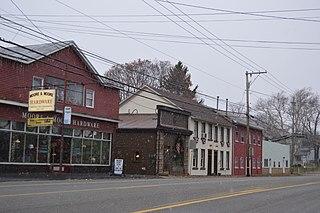 Portersville, Pennsylvania Village in Pennsylvania, United States