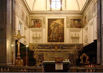 Giovan Battista Cavagna - Apse of Sant'Anna dei Lombardi