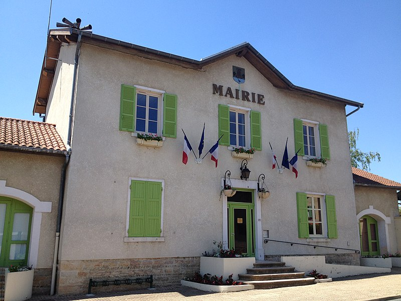 Mairie D'Ambérieux-en-Dombes.