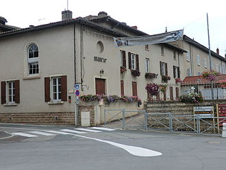 Ars-sur-Formans - The Town Hall