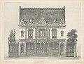 Maison Élevée Rue St. Georges par M. Renaud MET DP116737.jpg