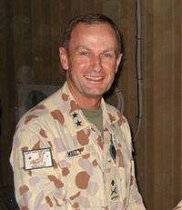 Major General Kelly at Kandahar in 2009.jpg