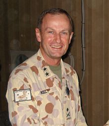 Major General Kelly at Kandahar in 2009.jpg