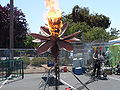 Maker faire 2009 palo alto flower fire.jpg