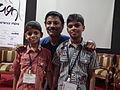 Malayalam wikipedian vishwa with achu kulangara in wci2011 9653.JPG