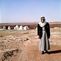 Man voor een dorp en akkers - Stichting Nationaal Museum van Wereldculturen - TM-20036601.jpg