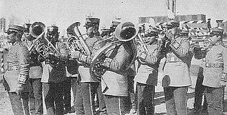 Manchukuo Imperial Army - Manchukuo Army marching band