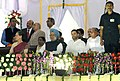 Manmohan Singh with the Chairperson, National Advisory Council, Smt. Sonia Gandhi and other dignitaries witnessing the Dussehra celebrations, at Ramleela Maidan on the auspicious occasion of Vijay Dashmi, in New Delhi.jpg