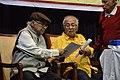 Manoj Mitra Handing Over Ananta Asim Prize To Amit Sarkar - Sundaram 28th Prize Distribution Function - Kolkata 2018-02-18 1666.JPG