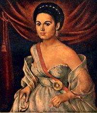Manuela S  225 enz   lover of Bol  237 var who rescued him from an    Simon Bolivar Wife
