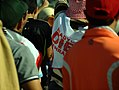 "Many wore signs or hats that said, ""ready to die for Bahrain."" - Flickr - Al Jazeera English.jpg"
