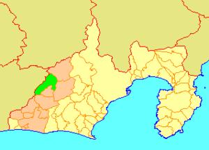 Sakuma, Shizuoka - Image: Map.Sakuma.Shizuoka