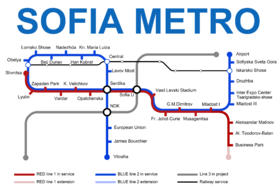 Image illustrative de l'article Métro de Sofia
