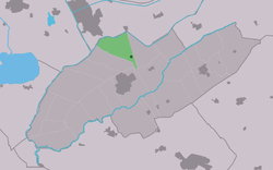 Location in Weststellingwerf municipality