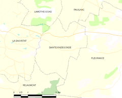 Map commune FR insee code 32405.png