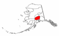 Map of Alaska highlighting Matanuska-Susitna Borough.png