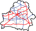 Map of Automobile Roads in Belarus M1-M12.png