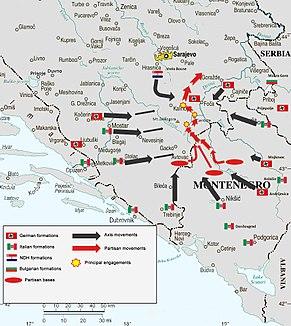 Map of Case Black