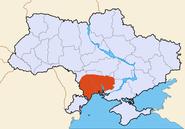Map of Ukraine political Edisan