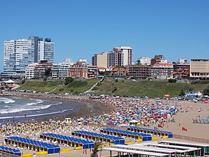 General Pueyrredón Partido - The coastal resort of Mar del Plata